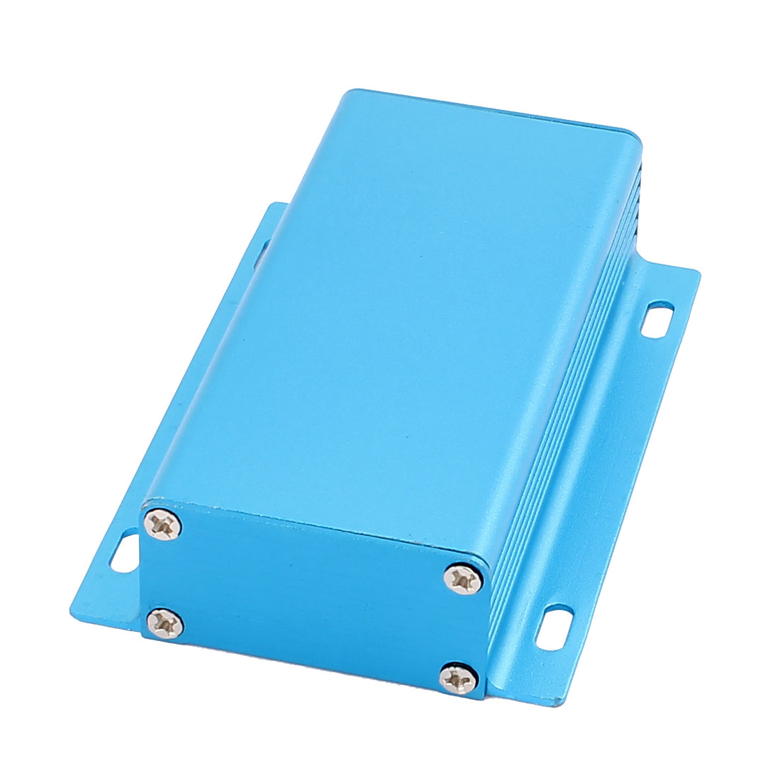 108 x 70 x 25mm Multi-purpose Extruded Aluminum Enclosure Electronic Box Blue