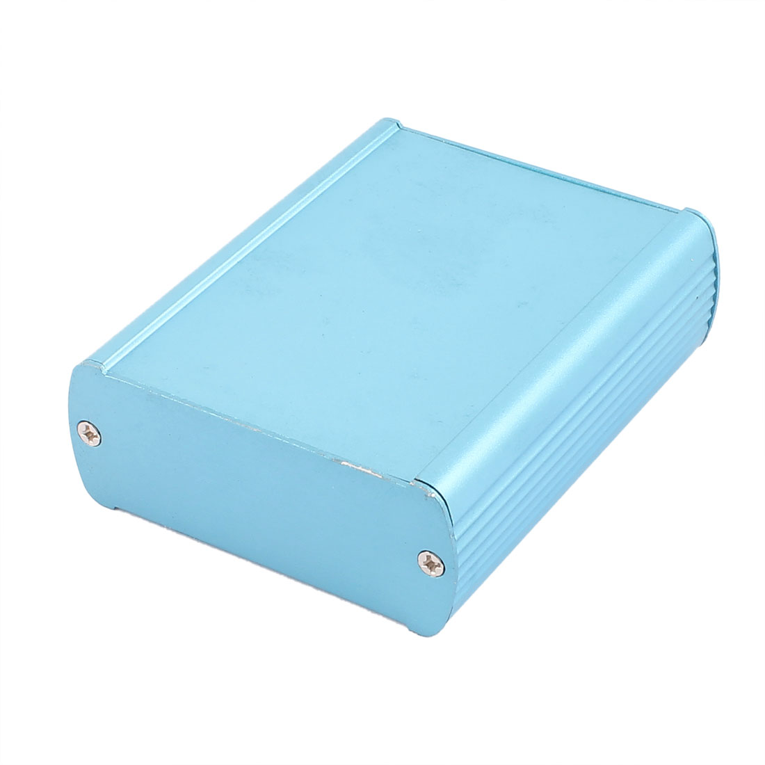 103 x 82 x 32mm Multi-purpose Electronic Extruded Aluminum Enclosure Case Blue
