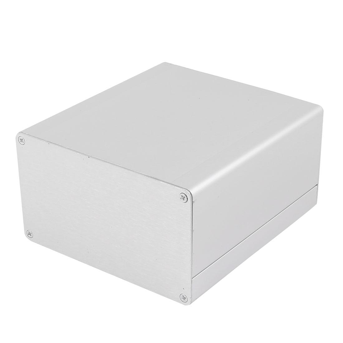 133 x 120 x 70mm Multi-purpose Electronic Extruded Aluminum Enclosure Box