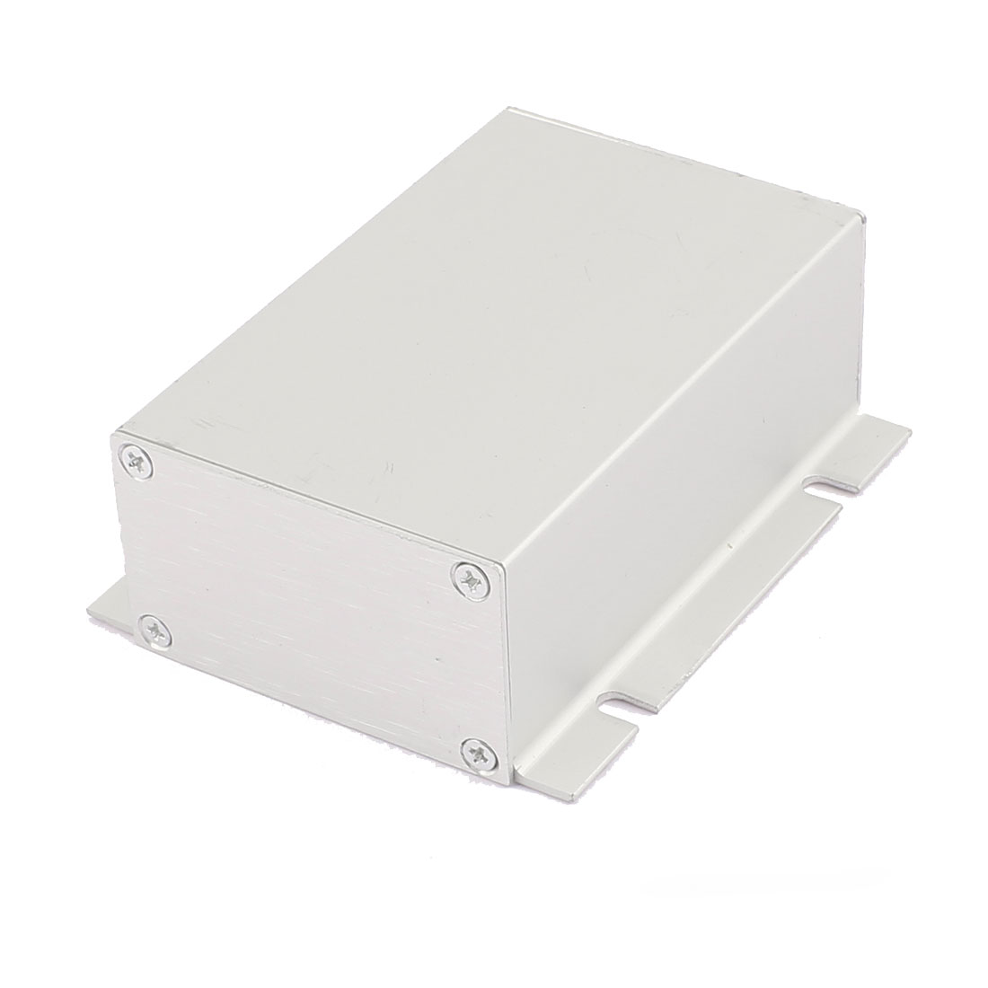 82 x 51 x 30mm Multi-purpose Electronic Extruded Aluminum Enclosure Silver Tone