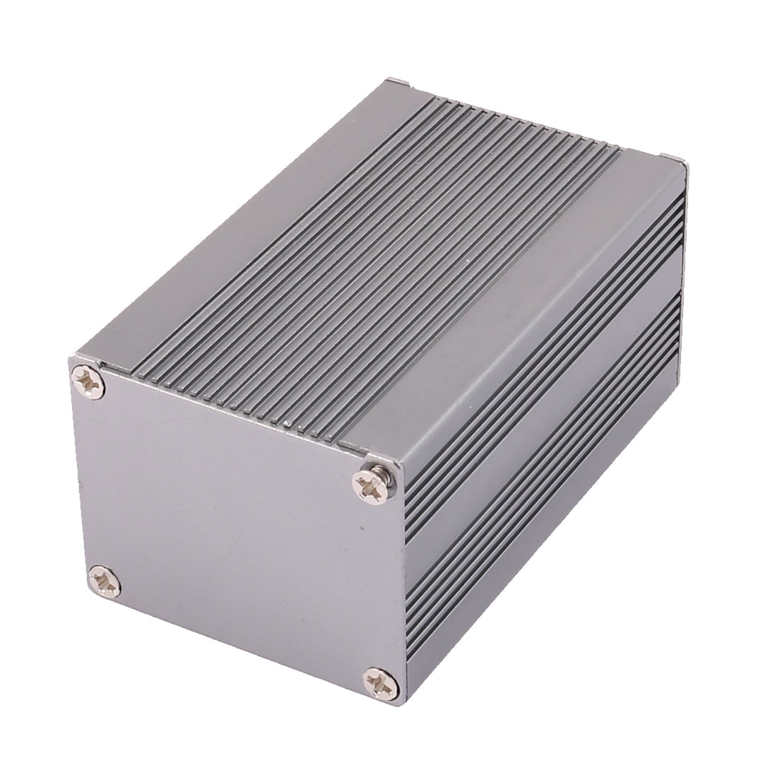 83 x 50 x 40mm Multi-purpose Electronic Extruded Aluminum Enclosure Case Gray