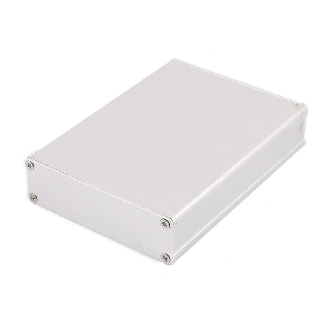 102 x 74 x 22mm Multi-purpose Electronic Extruded Aluminum Enclosure Box