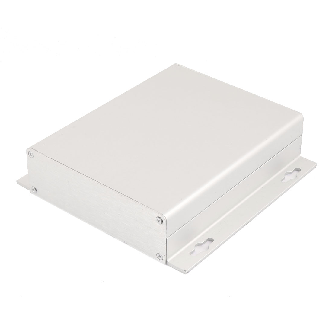 38x150x155mm Multi-purpose Electronic Extruded Aluminum Enclosure Case Silver Tone