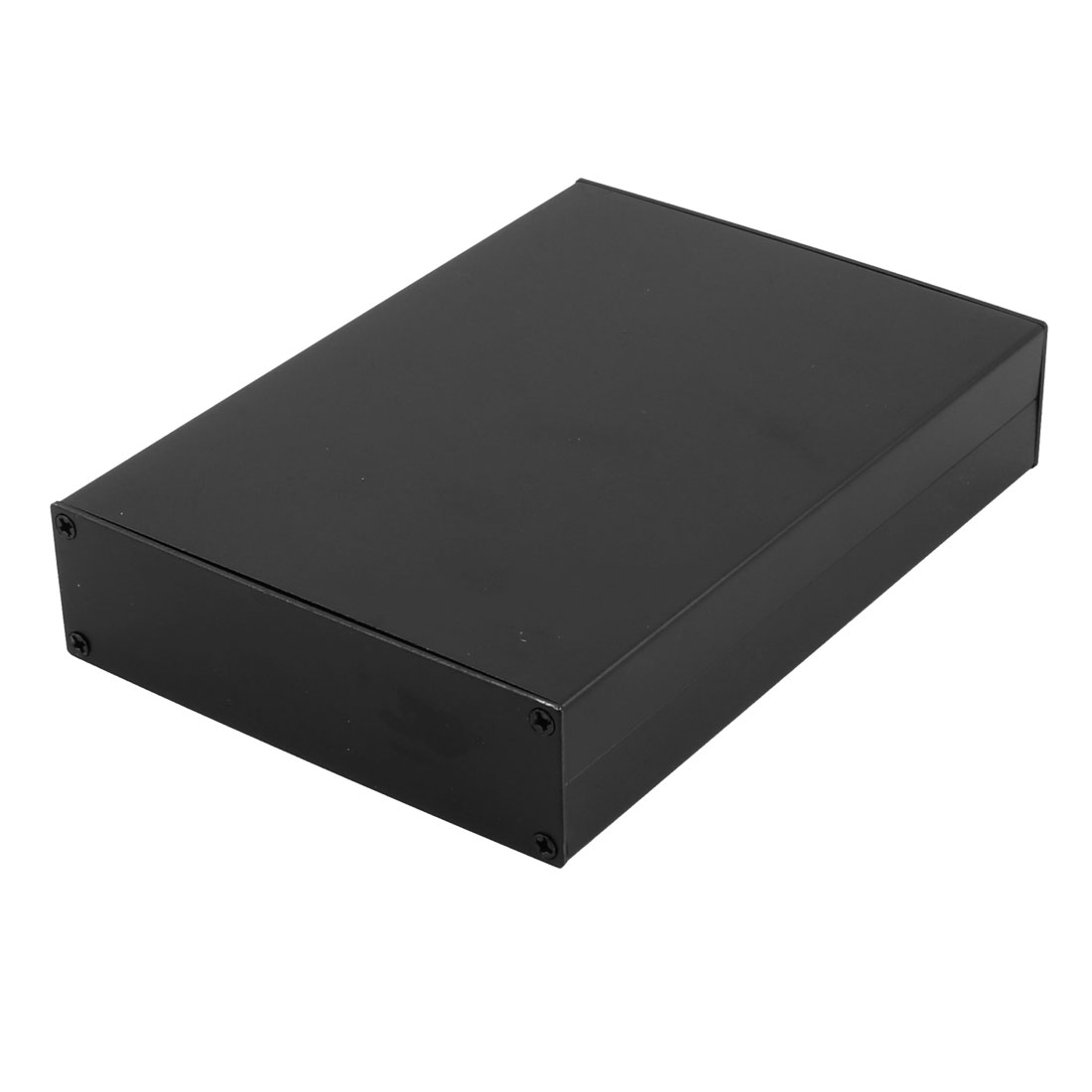 163 x 114 x 33mm Multi-purpose Electronic Extruded Aluminum Enclosure Case Black