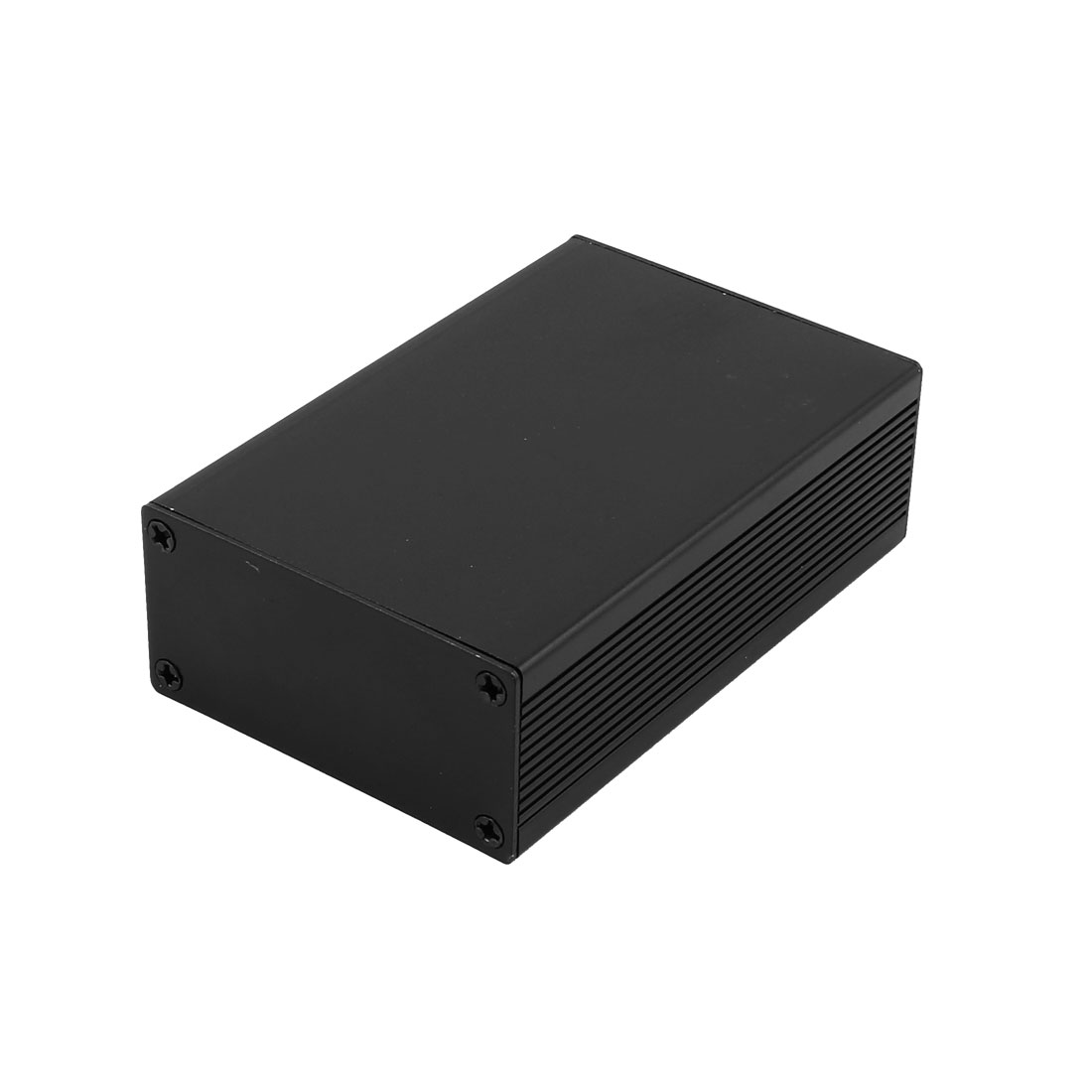 32 x 66 x 100mm Multi-purpose Electronic Extruded Aluminum Enclosure Black