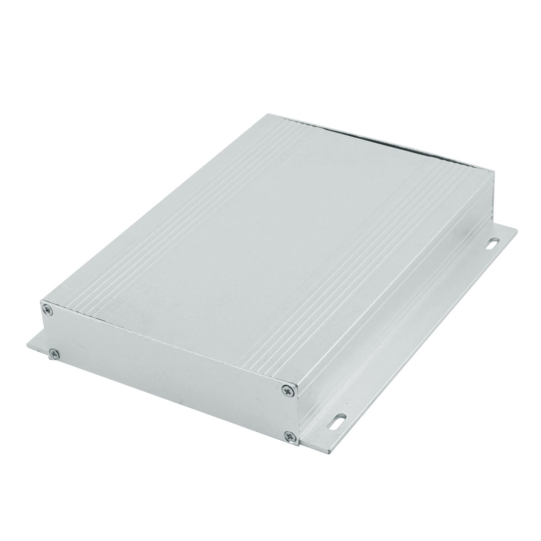 26 x 133 x 60mm Multi-purpose Electronic Extruded Aluminum Enclosure Case Silver Tone