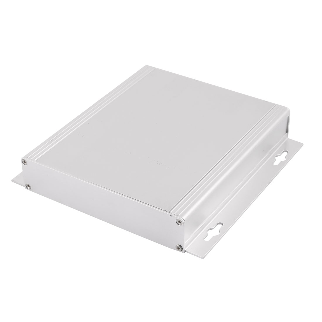 29 x 164 x 155mm Multi-purpose Electronic Extruded Aluminum Enclosure Case Silver Tone