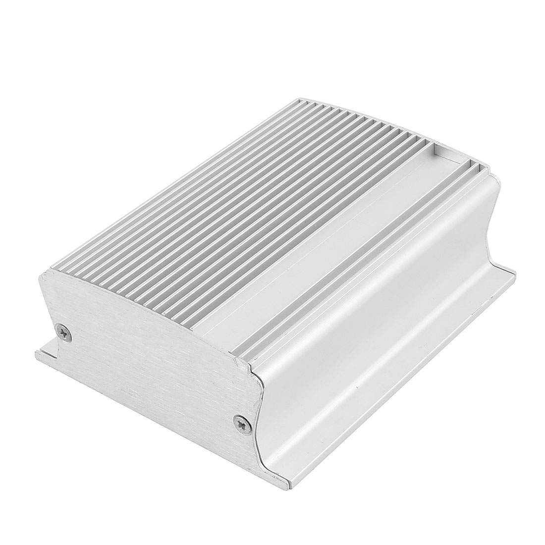 103 x 85 x 36mm Multi-purpose Electronic Extruded Aluminum Enclosure Silver Tone
