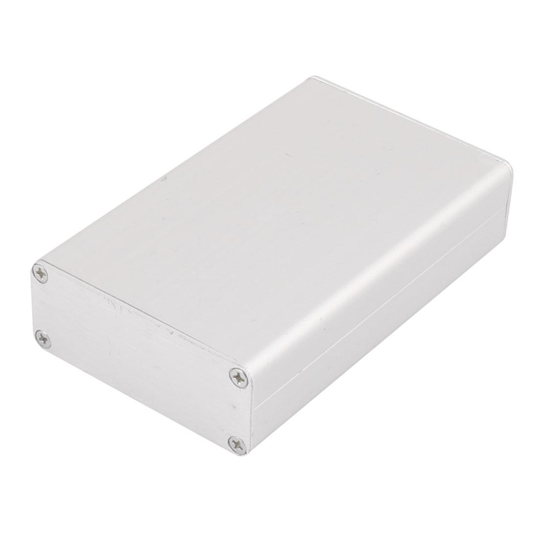 82 x 50 x 20mm Multi-purpose Electronic Extruded Aluminum Enclosure Silver Tone