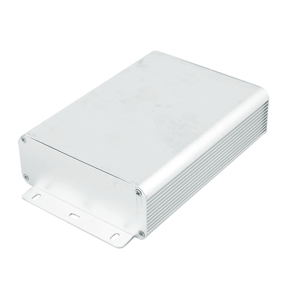45 x 122 x 160mm Multi-purpose Extruded Aluminum Enclosure Box Silver Tone