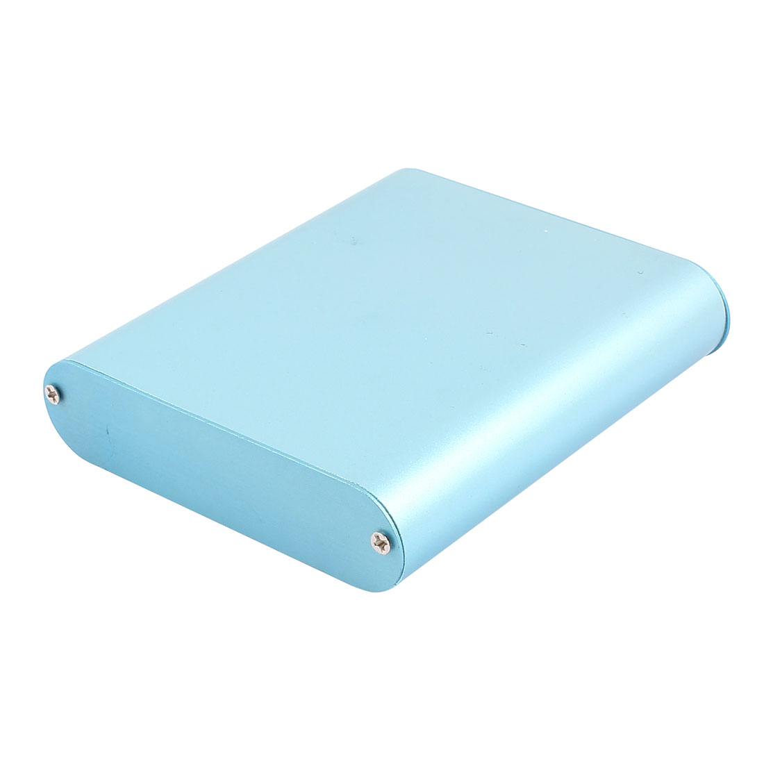 122 x 108 x 26mm Multi-purpose Electronic Extruded Aluminum Enclosure Case Blue