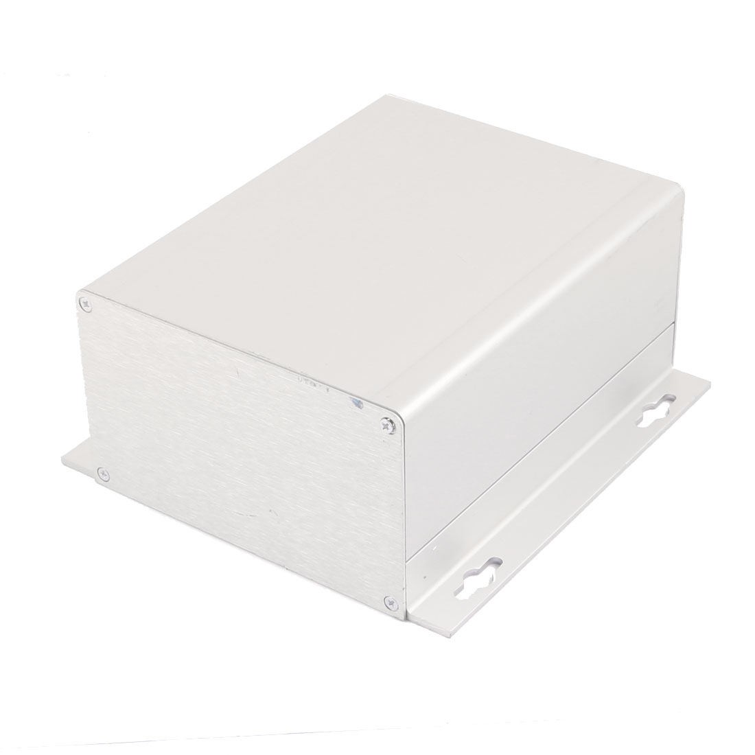 72 x 150.4 x 155mm Multi-purpose Extruded Aluminum Enclosure Box Silver Tone