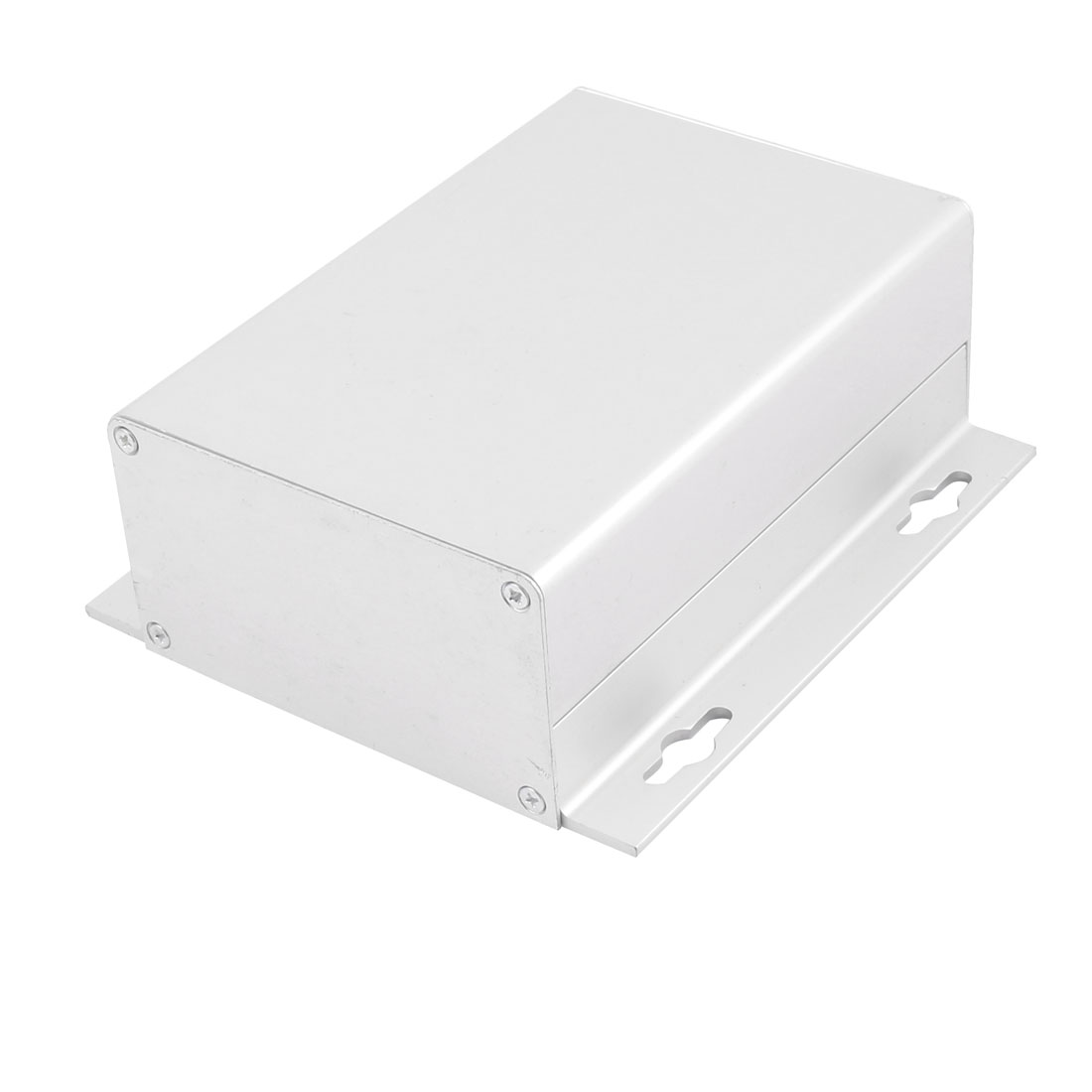 50x119.6x130mm Multi-purpose Electronic Extruded Aluminum Enclosure Case Silver Tone