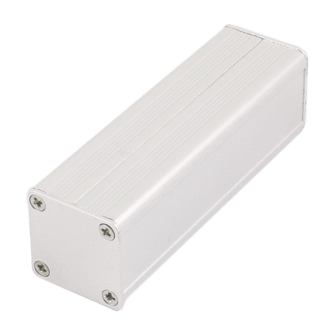 83 x 25 x 25mm Multi-purpose Electronic Extruded Aluminum Enclosure Case Silver Tone