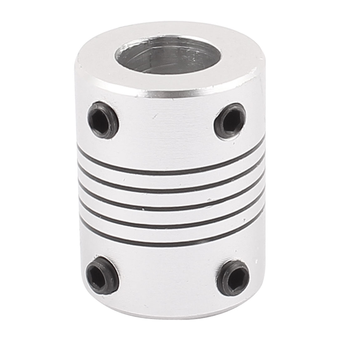 10mm to 10mm Motor Shaft Dual Way Coupler Helical Beam Coupling Aluminum