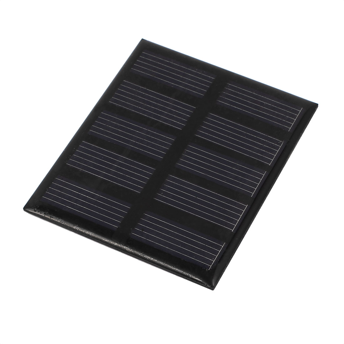 70 x 58mm 0.5W 2.5V Polycrystalline Solar Panel Battery Charger RV Boat Camping