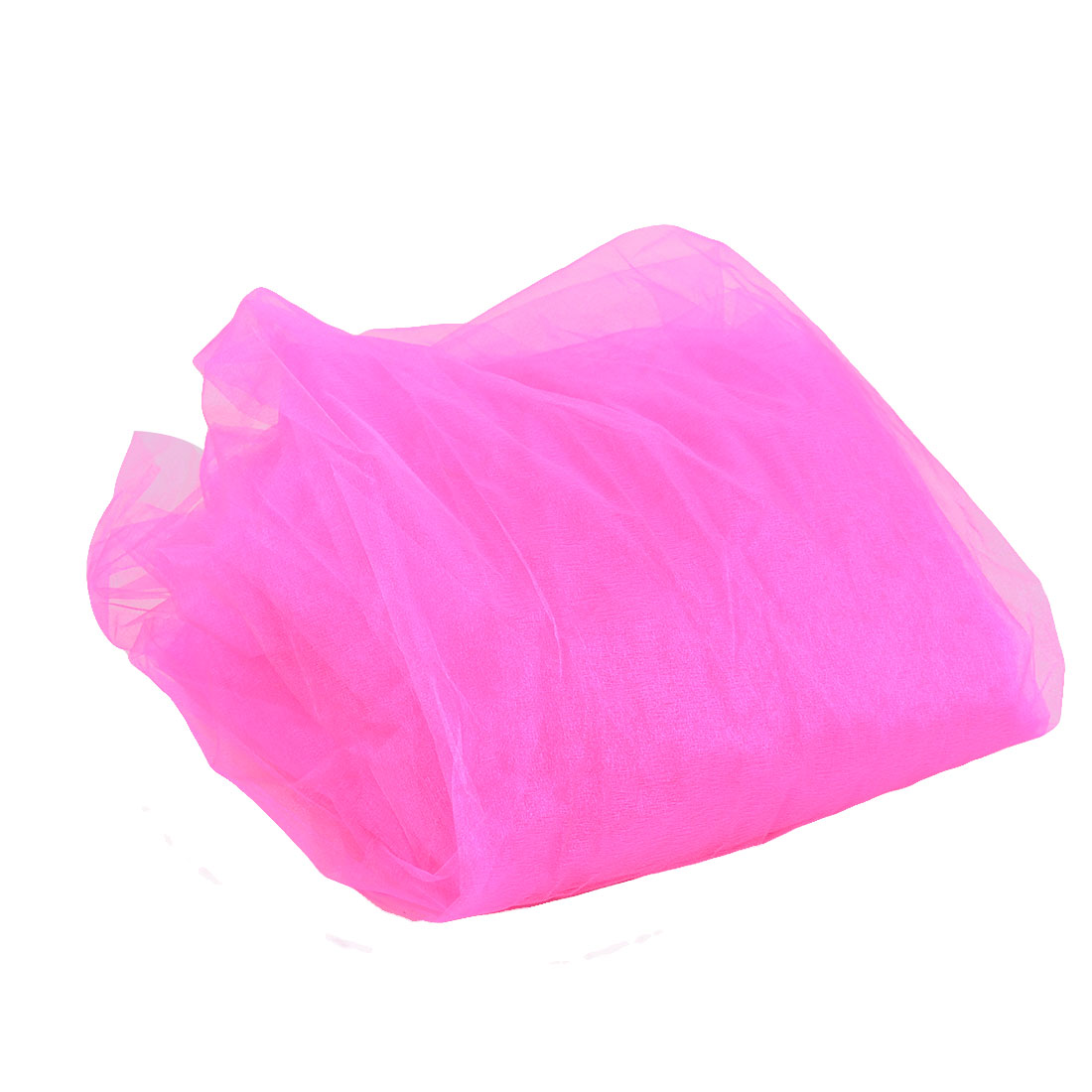Wedding Party Marriage Organza Decoration Prop Shaman Gauze Pink 10 Meters Long