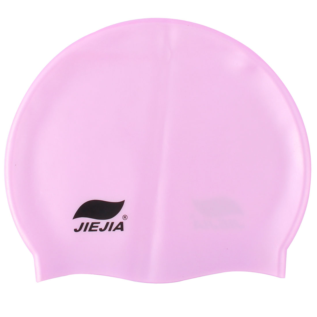 Swimming Sport Silicone Flexible Swim Cap Hat Hair Cover Protector Purple