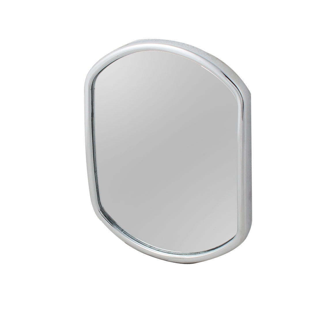 Vehicle Hexagonal Convex Rearview Blind Spot Mirror Silver Tone 137 x 105 x 12mm