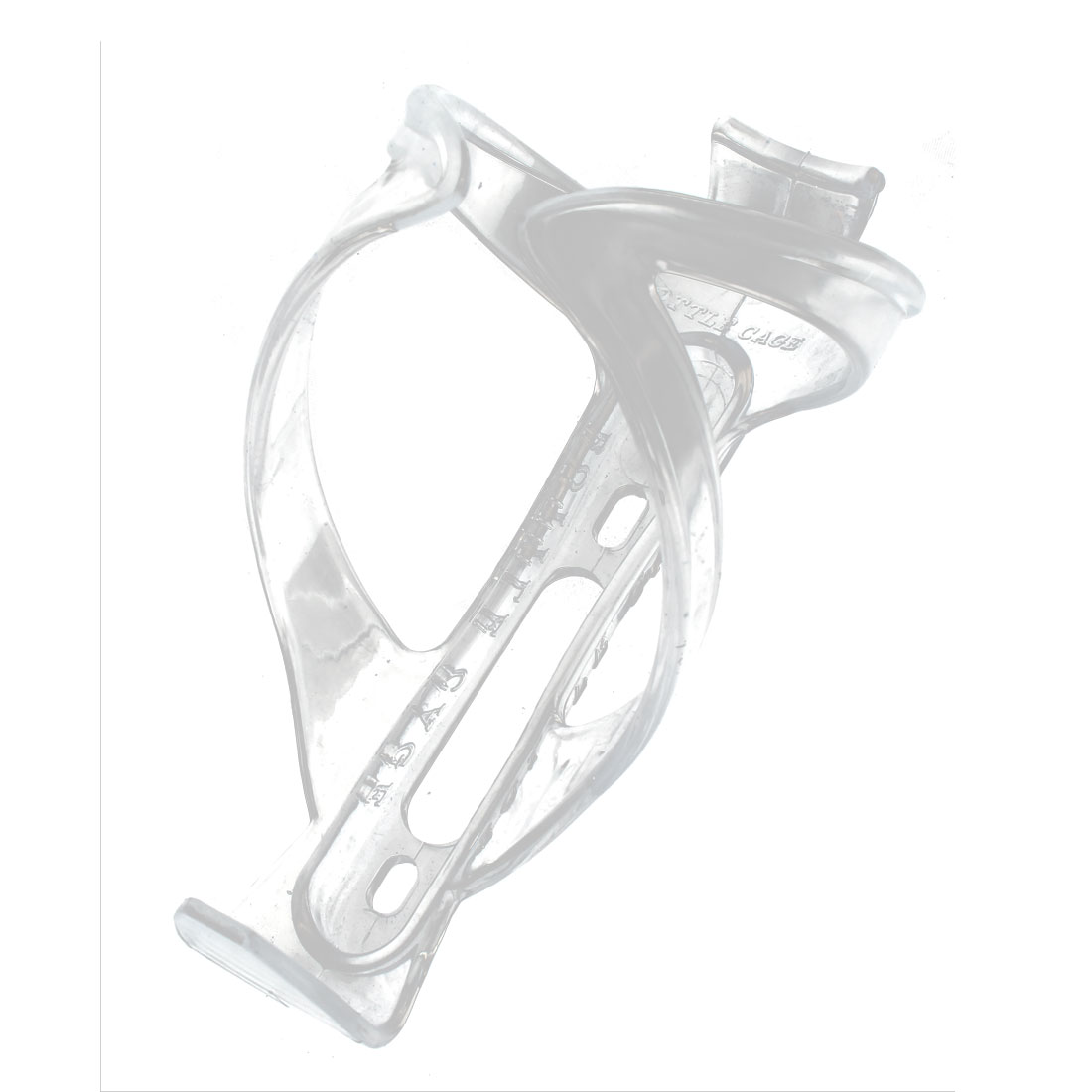 Cycling Bicycle Bike Plastic Drinking Water Bottle Holder Cage Bracket Clear