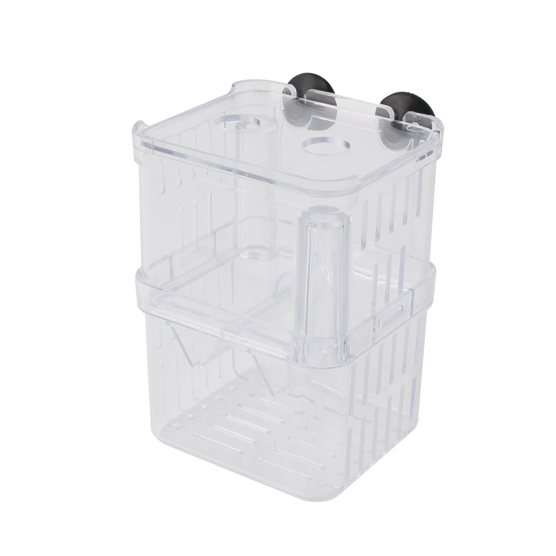 Pet Fish Hanging Aquarium Tank Incubator Hatchery Breeder Box 8 x 7 x 11cm