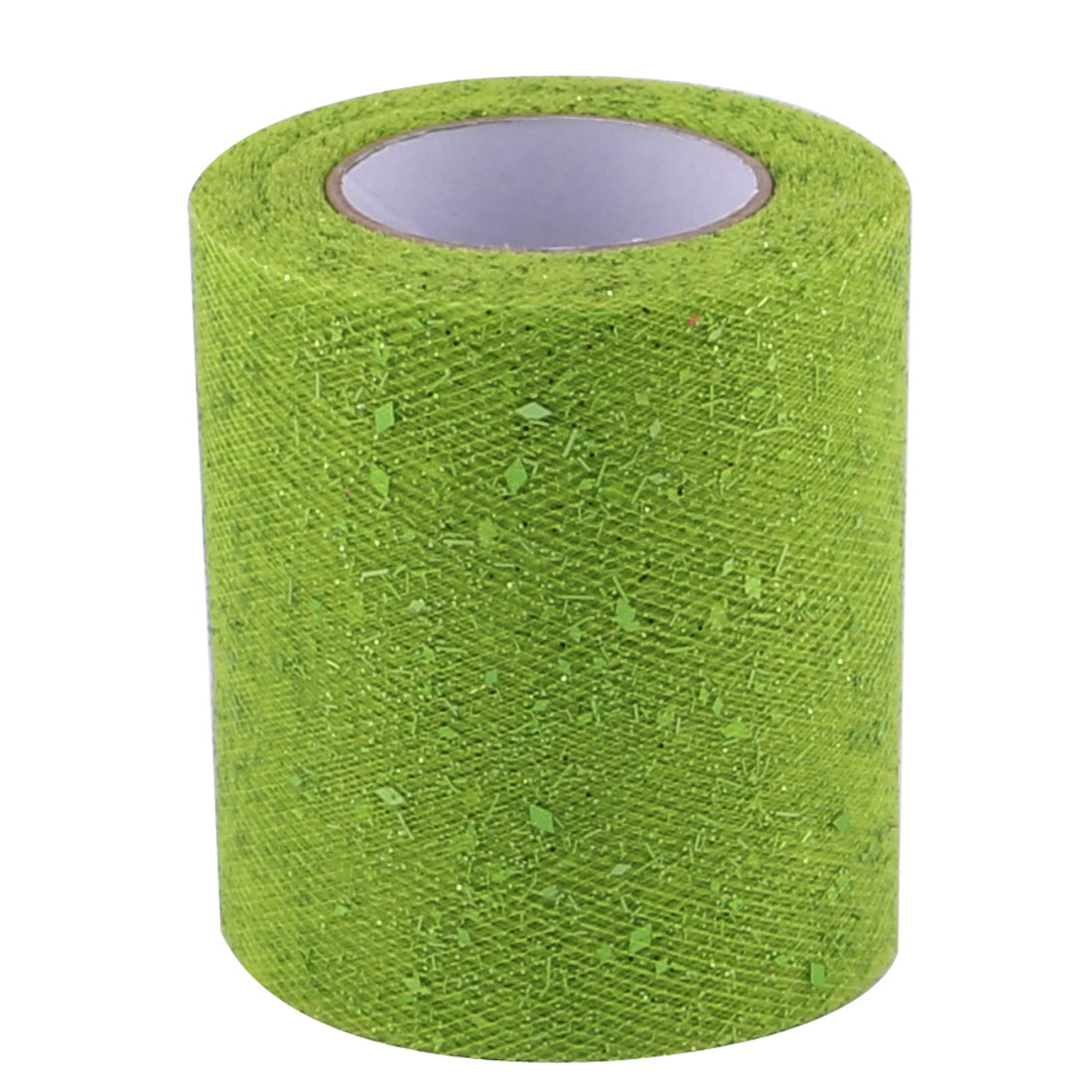 Wedding Banquet Party DIY Tutu Gift Chair Glitter Tulle Spool Fruit Green 25 Yards