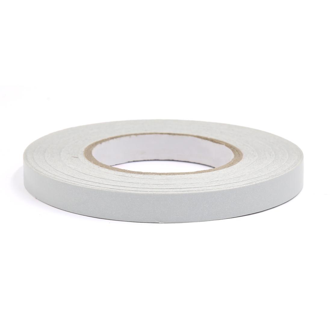 46M White Adhesive Decol Sticker Decoration Reflective Tape Stripe for Car