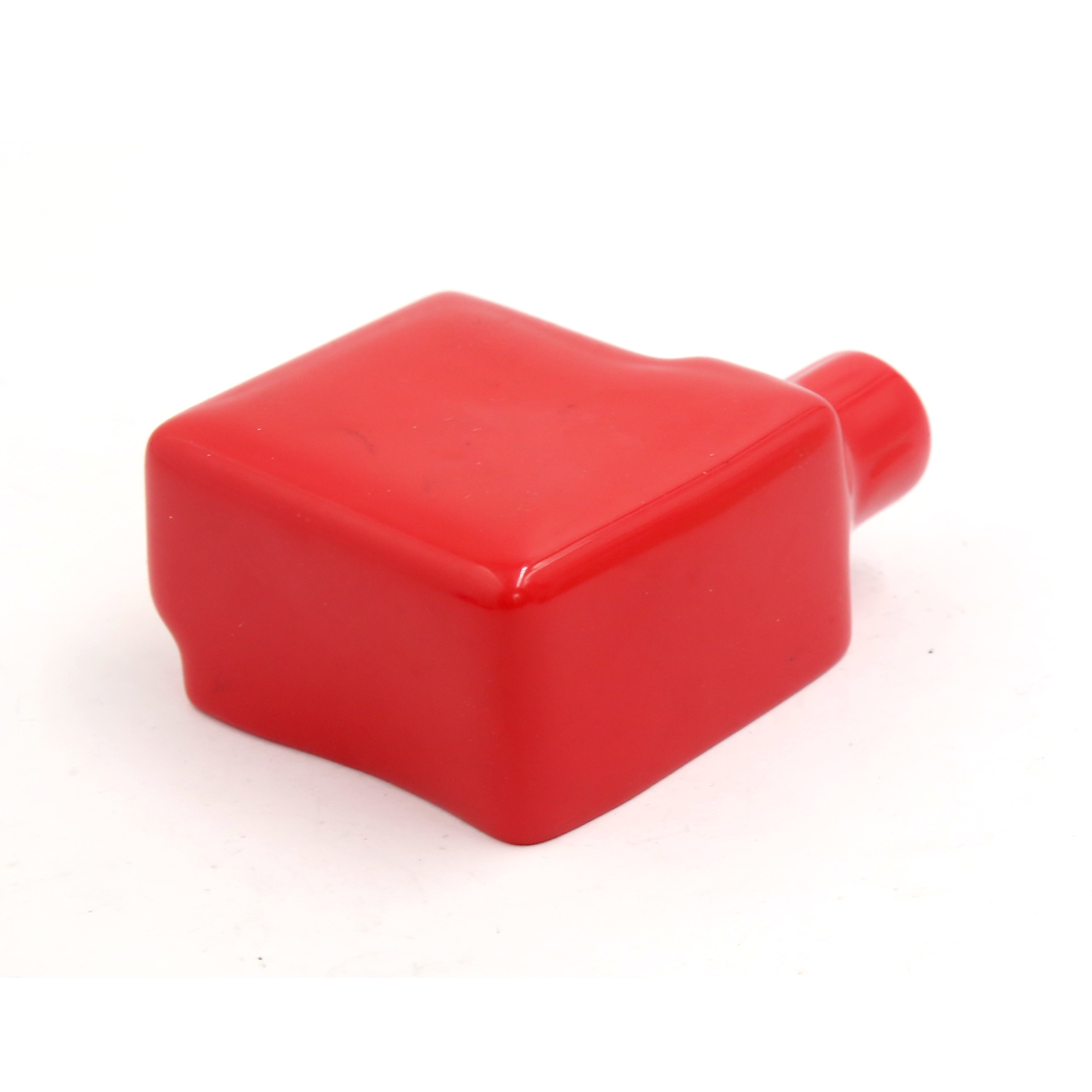 Universal PVC Battery Terminal Insulating Protector Covers Red 75 x 60 x 33mm