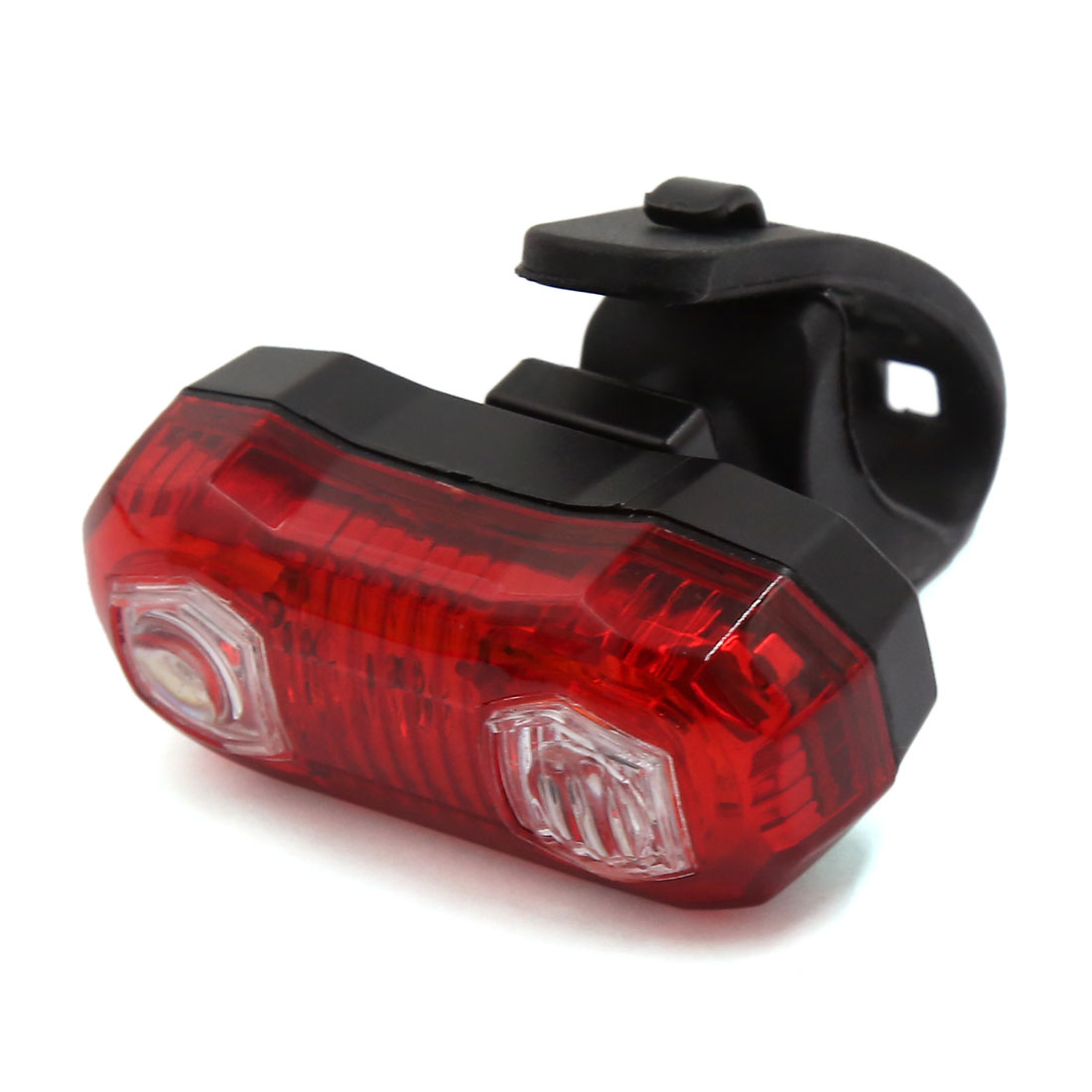 5 LEDs Bicycle Rear Tail Lamp Cycling Red Bright Light Bike Safety 3 Modes