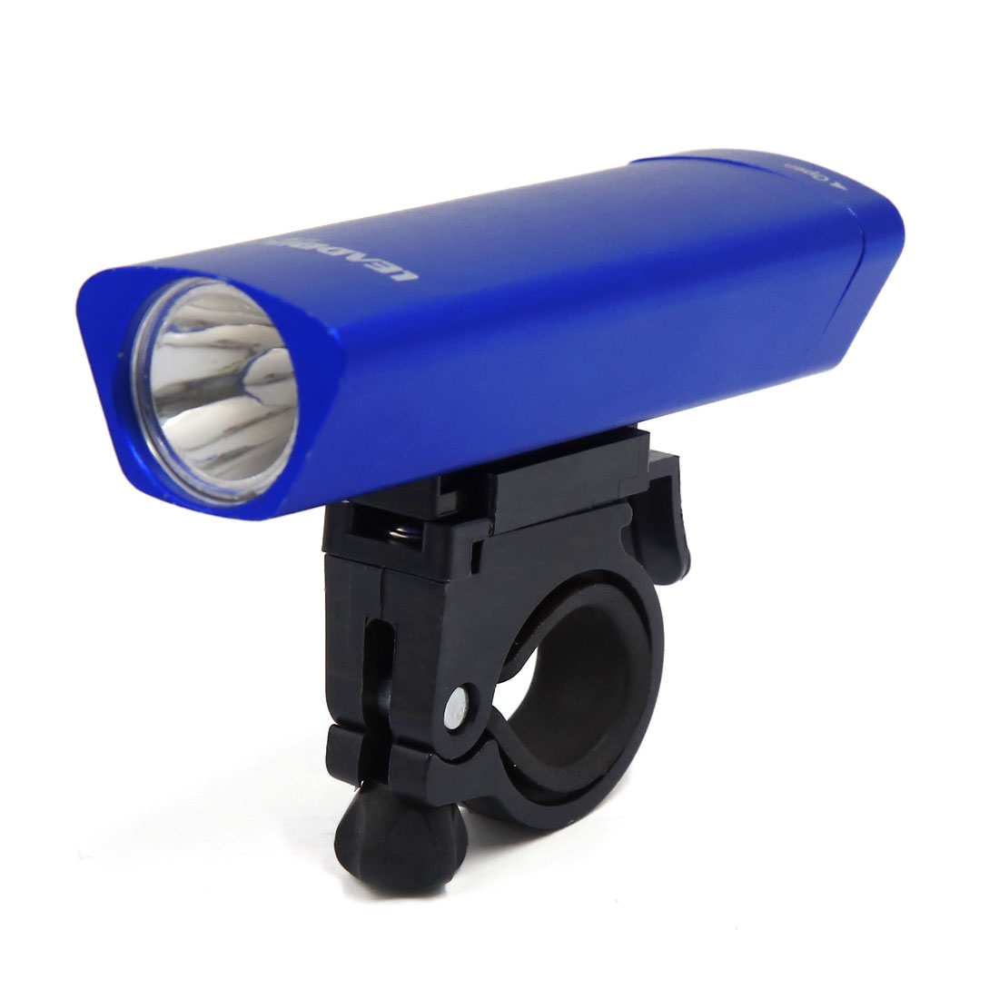 Adjustable Bicycle White LED Lamp Head Front Light Constant Flashlight Blue