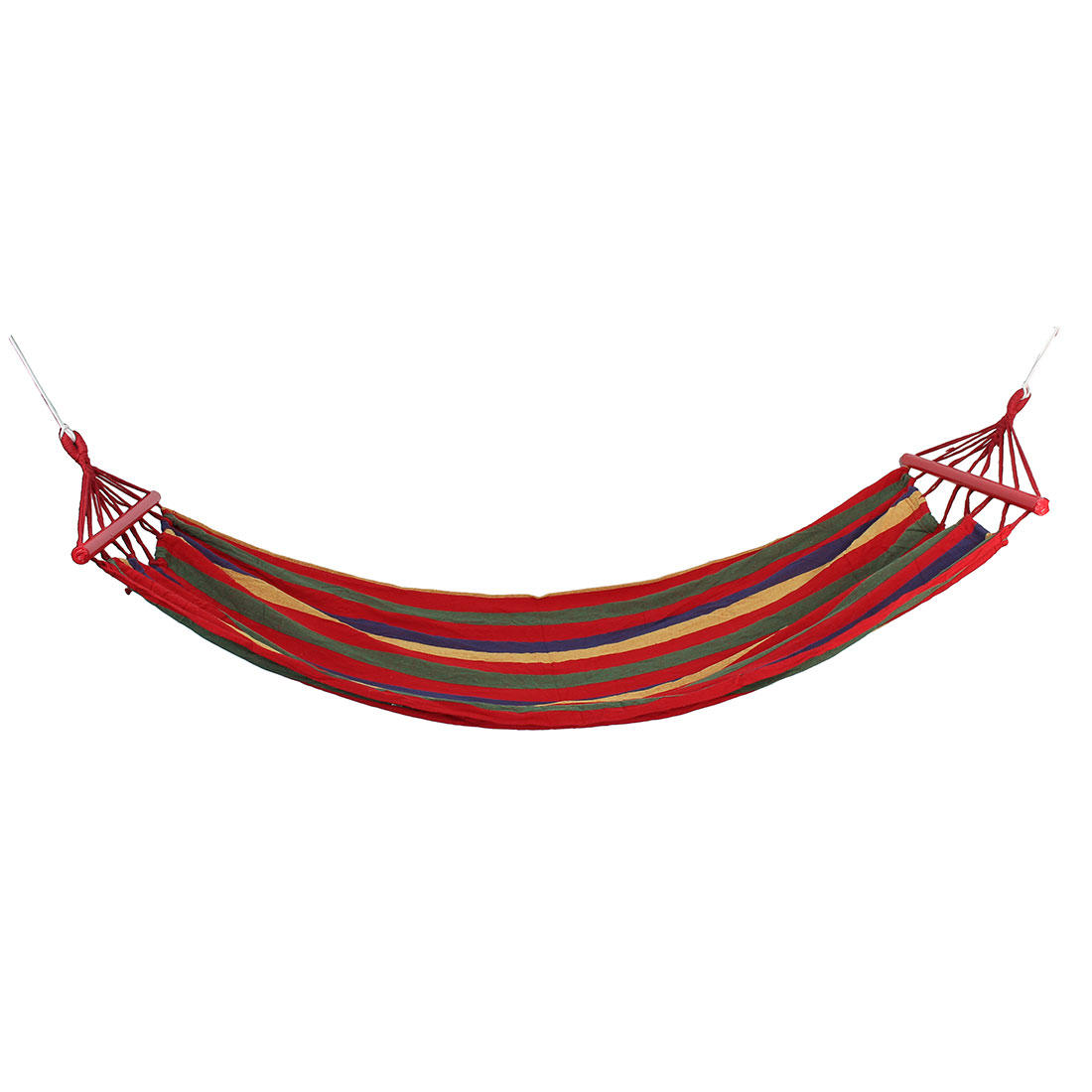 Outdoor Camping Travel Canvas Spreader Bar Beach Swing Bed Suspended Hammock