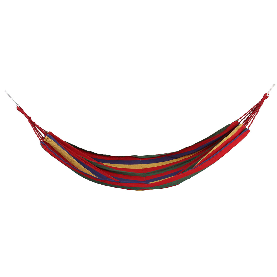 Camping Travel Beach Canvas Portable Rope Swing Bed Tree Hanging Suspended Hammock