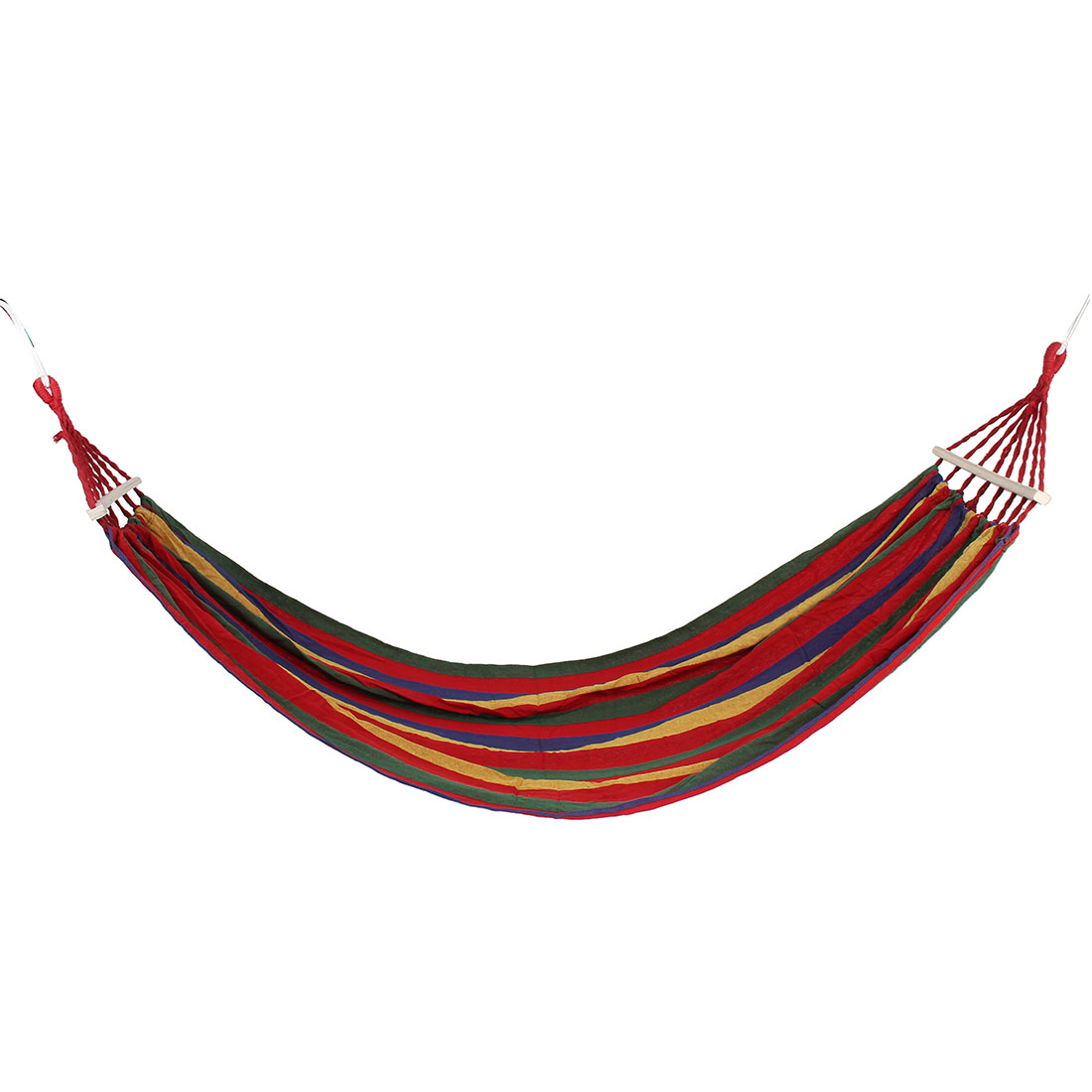 Outdoor Camping Travel Canvas Spreader Bar Tree Hanging Suspended Hammock