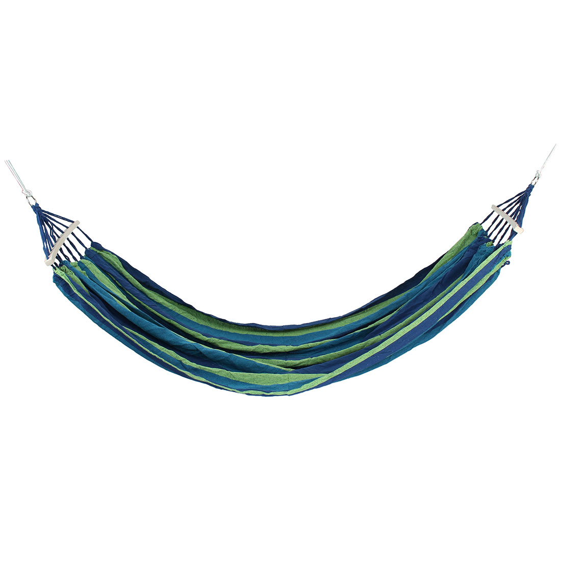 Outdoor Camping Travel Canvas Rope Swing Hanging Sleeping Bed Double Parachute Hammock
