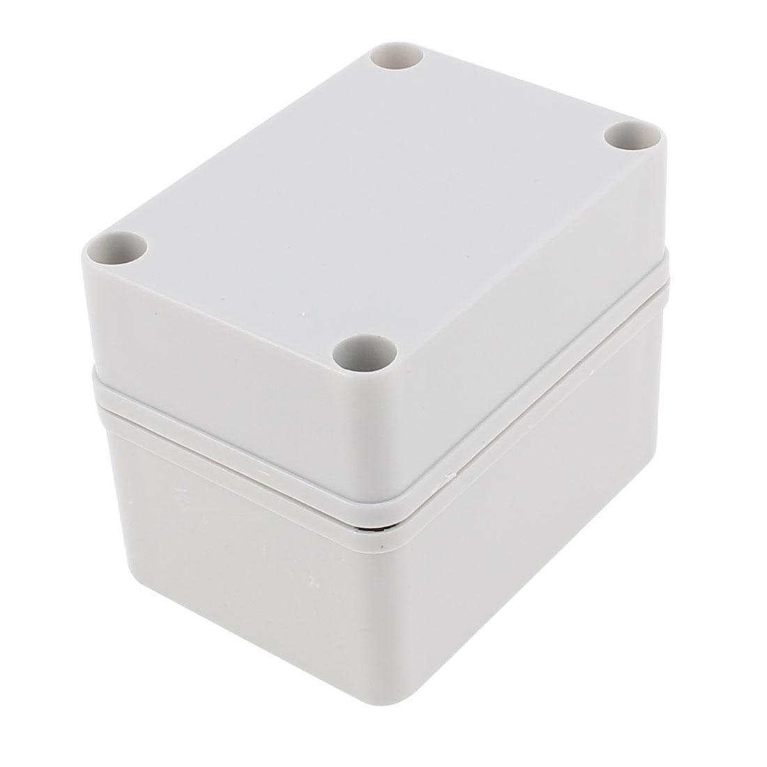 110 x 85 x 80mm Dustproof IP65 Junction Box Terminal Connecting Box Enclosure