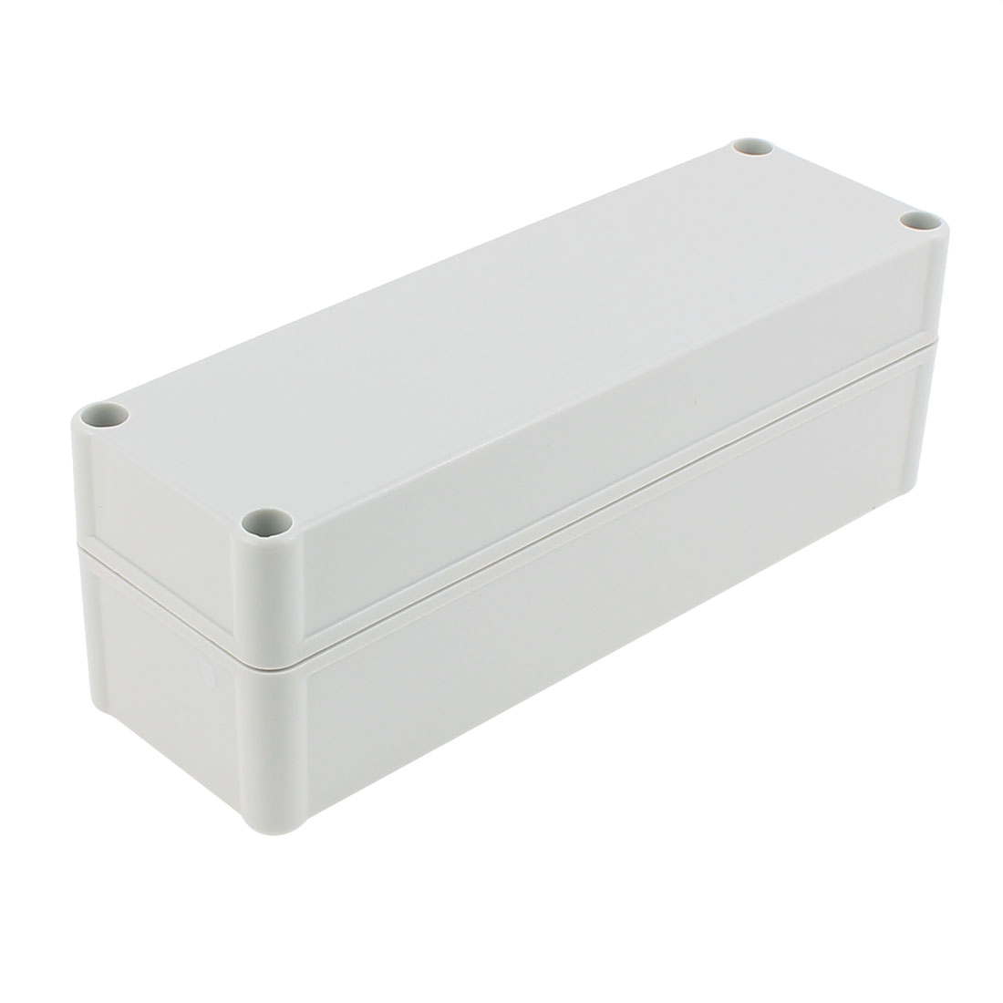 250 x 85 x 80mm Dustproof IP65 Junction Box Terminal Connecting Box Enclosure