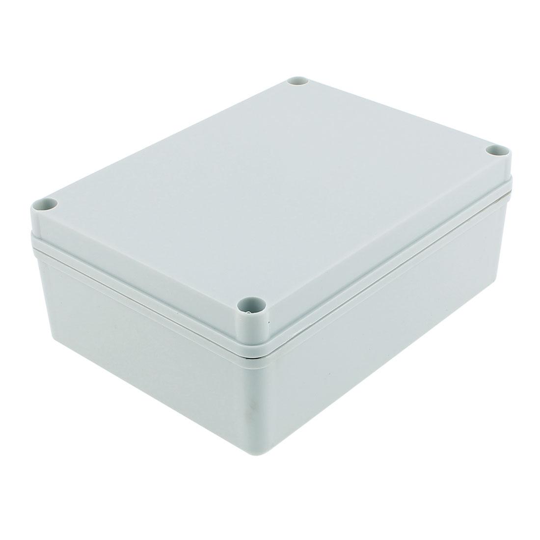 200 x 150 x 75mm Dustproof IP65 Junction Box Terminal Connection Box Enclosure