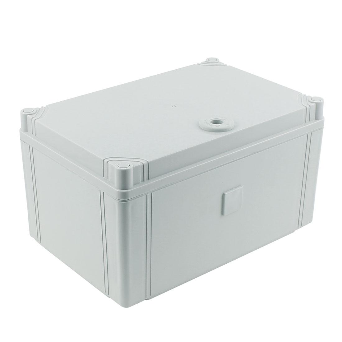 300 x 200 x 160mm Dustproof IP65 Junction Box DIY Terminal Connection Enclosure