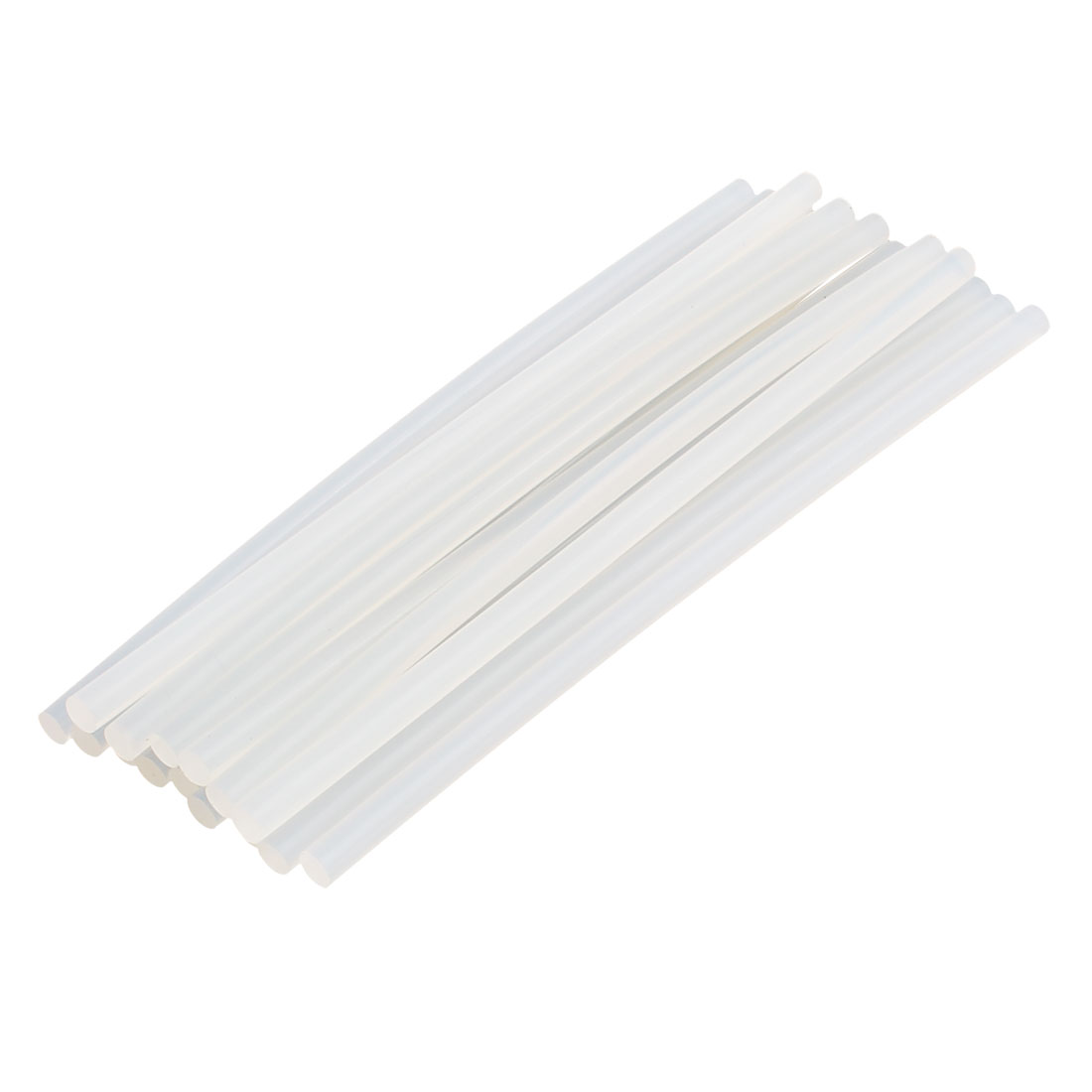 15 Pcs 7mm x 200mm Hot Melt Glue Adhesive Stick Clear for Electric Tool Heating Gun