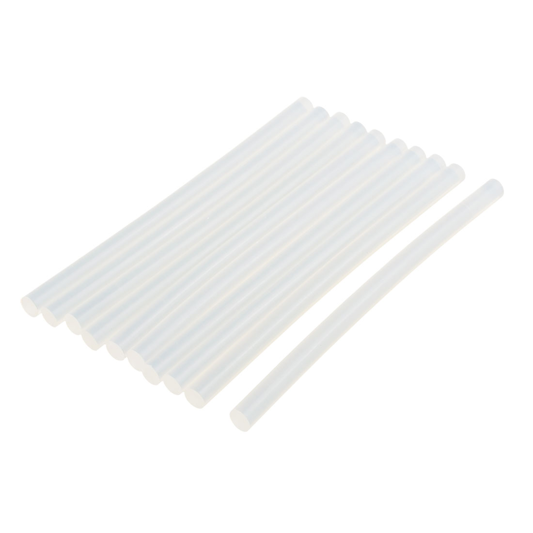 10 Pcs 11mm x 200mm Hot Melt Glue Adhesive Stick Clear for Electric Tool Heating Gun