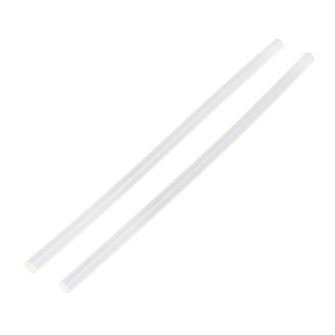 2 Pcs 7mm x 190mm Hot Melt Glue Adhesive Stick Clear for Electric Tool Heating Gun