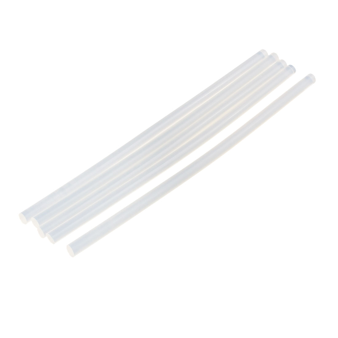 5 Pcs 7mm x 190mm Hot Melt Glue Adhesive Stick Clear for Electric Tool Heating Gun