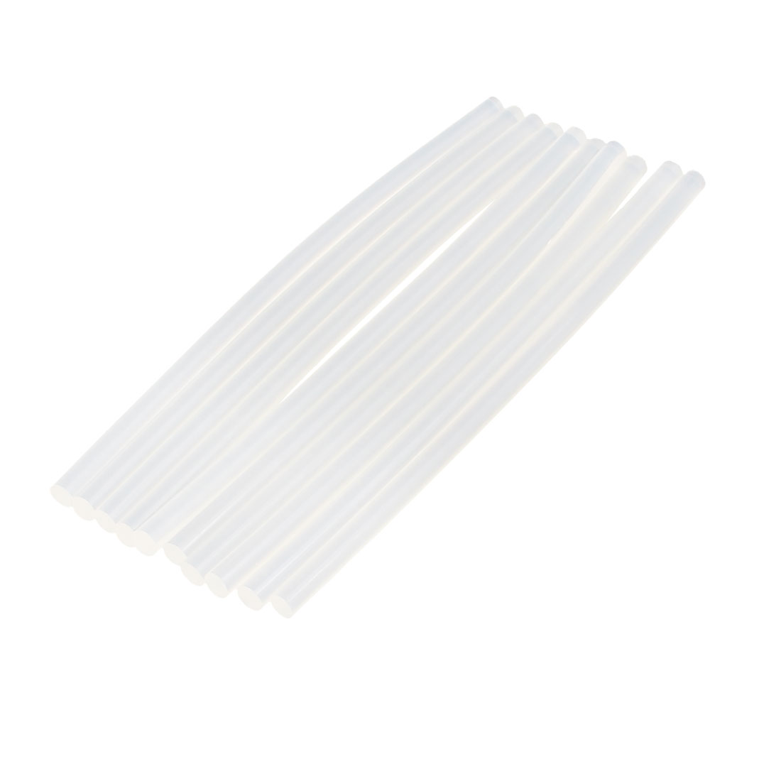 10 Pcs 7mm x 190mm Hot Melt Glue Adhesive Stick Clear for Electric Tool Heating Gun