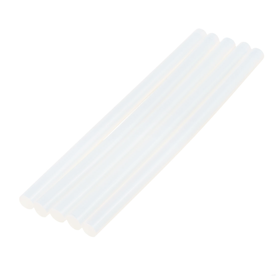5 Pcs 11mm x 190mm Hot Melt Glue Adhesive Stick Clear for Electric Tool Heating Gun