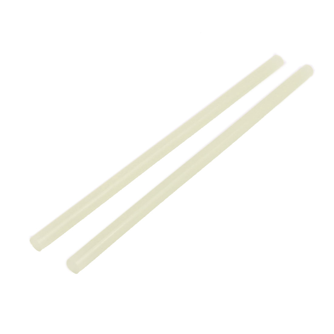 2 Pcs 11mm x 285mm Hot Melt Glue Adhesive Stick Yellow for Electric Tool Heating Gun