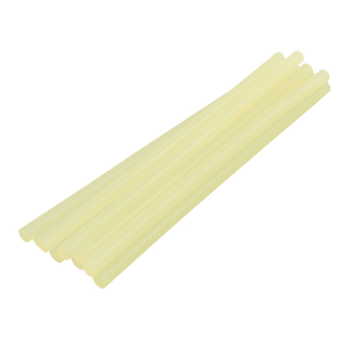 10 Pcs 11mm x 285mm Hot Melt Glue Adhesive Stick Yellow for Electric Tool Heating Gun