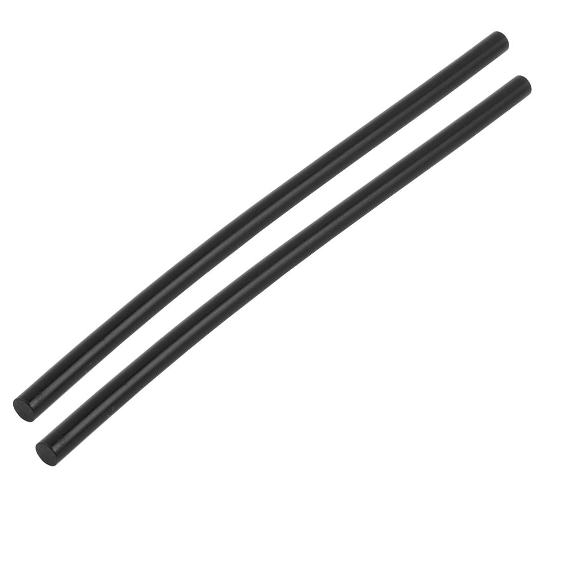 2pcs 7mm x 210mm Black Hot Melt Glue Stick for Electric Tool Hot Melt Glue Gun