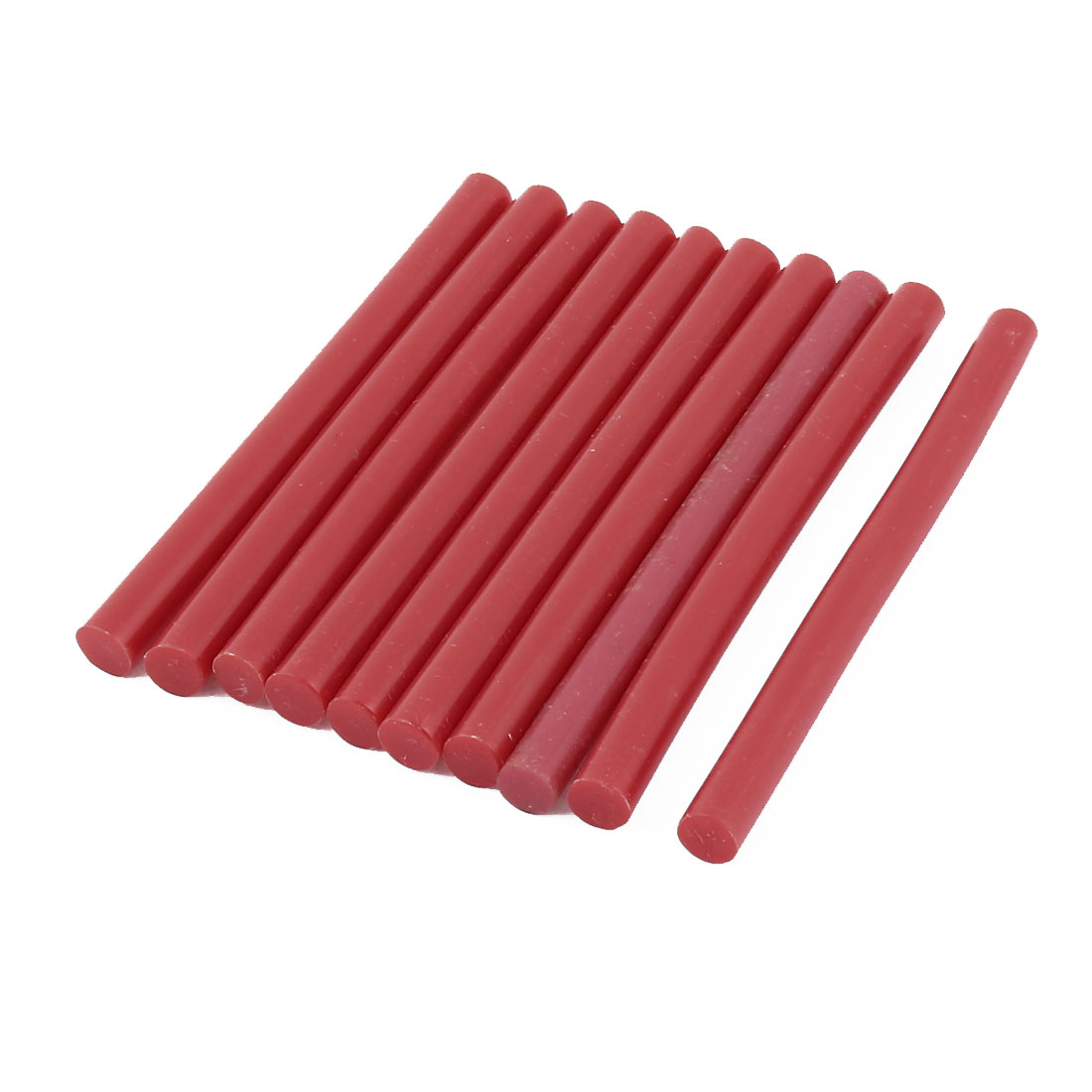 10pcs 100mm x 7mm Red Hot Melt Glue Sticks for General Purpose Hot Melt Gun