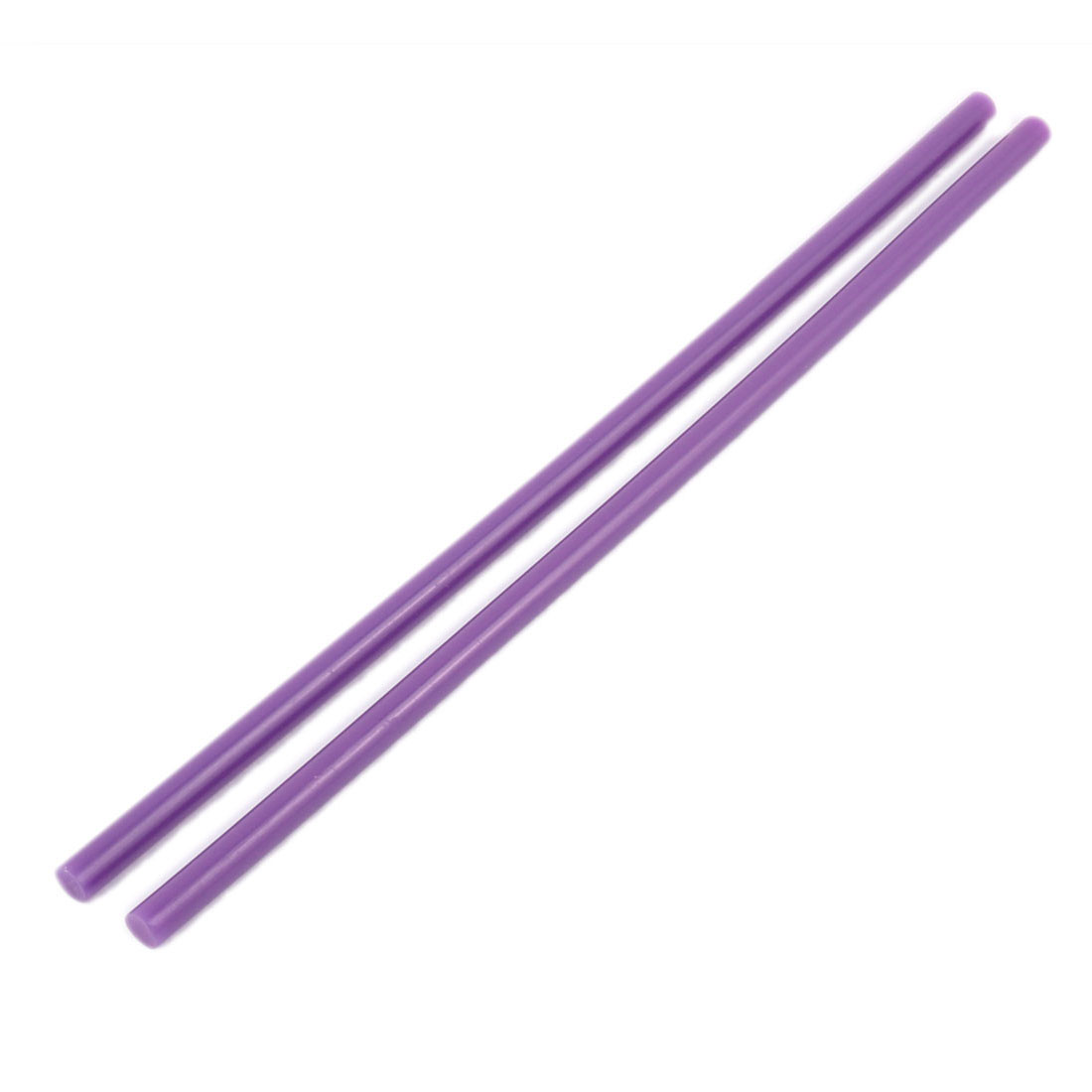 2Pcs 7x250mm Purple Hot Melt Glue Stick Adhesive for Electric Tool Hot Gun
