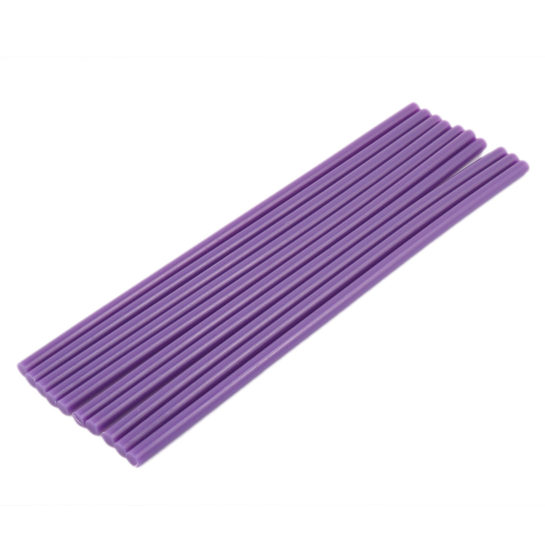 10Pcs 7mm x 250mm Purple Hot Melt Glue Stick for Electric Tool Hot Melt Glue Gun